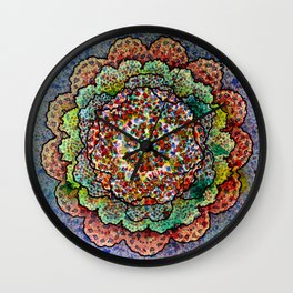 Stain 11 Wall Clock