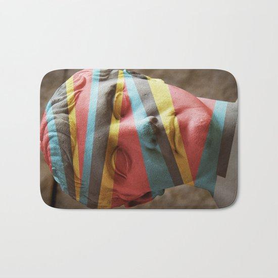 Defaced Bath Mat