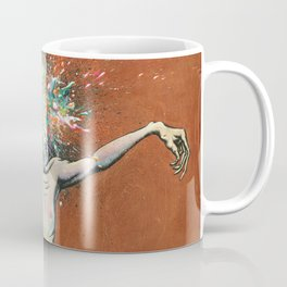 The Vulnerability Evoked in Failing to Capture the Mind's Ceaselessly Combusting Ephemera Coffee Mug