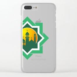 Symbol of Muslim Clear iPhone Case