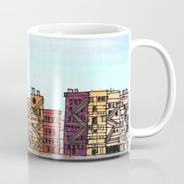 New York Purple Sky Coffee Mug