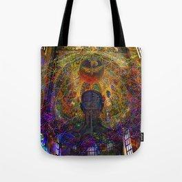 Solar Crown Chakra Tote Bag