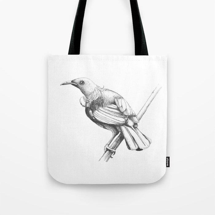 New Zealand Tui Tote Bag