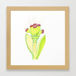 Fantasy Flower Framed Art Print