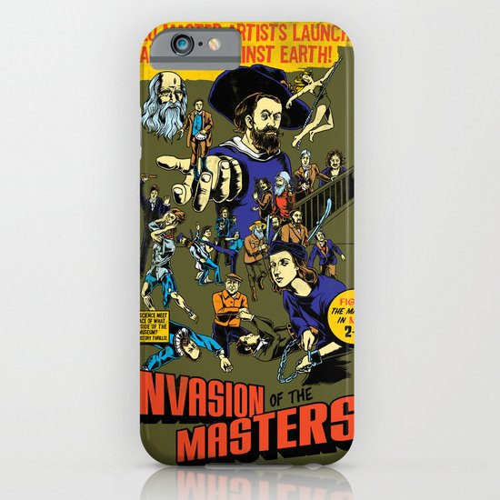Invasion of the Masters! iPhone & iPod Case