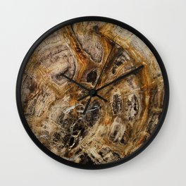 Natural Material Photo2 by iPhone 6s+ Wall Clock