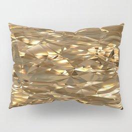 Golden Crinkle Pillow Sham