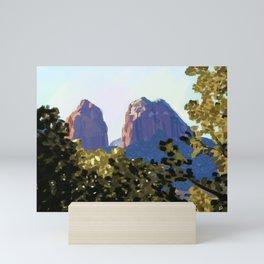 Red Rocks Mini Art Print