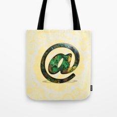 At Sign {@} Series - Cooper Std Typeface Tote Bag