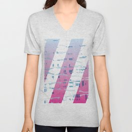 Abstract wings of freedom Unisex V-Neck