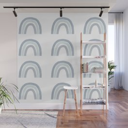 Rainbows, gray neutral palette Wall Mural