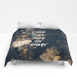 Love will tear us apart Comforters