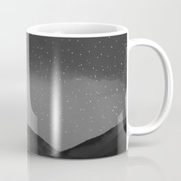 Evening Embrace Atop The Mountain Coffee Mug