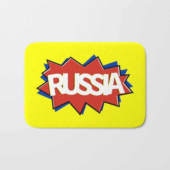 Russia Bath Mat