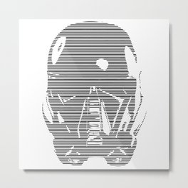 Death Trooper Metal Print