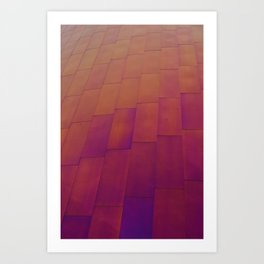 Wall of Color Art Print