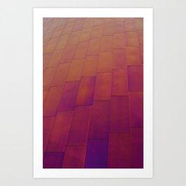 Wall of Color Art Print