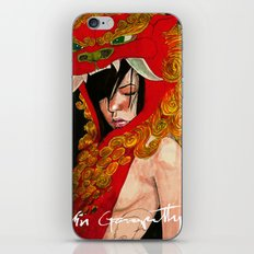 Foo Dog Slayer Kat iPhone & iPod Skin