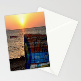 sunset ( Nubia)  Trapani Sicily Stationery Cards