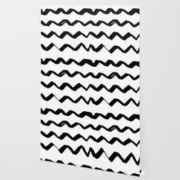 Ink Chevron Wallpaper