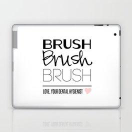 Brush Brush Brush Laptop & iPad Skin