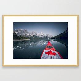 Rockies Relaxation. Framed Art Print