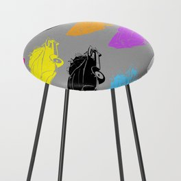 Pop Batmobile Counter Stool