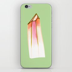 peachy crystal. iPhone & iPod Skin