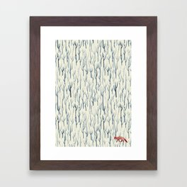 Winter Wood Framed Art Print