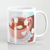 drink Mugs featuring Drink by Joelle Murray