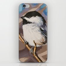 Chickadee 4 iPhone & iPod Skin