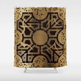 Lament Configuration Side D Shower Curtain
