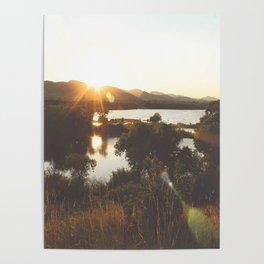 Golden Hour Glow Poster