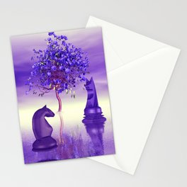 just a little chess world -2b- Stationery Cards