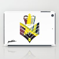 general iPad Cases featuring Fixie General by Pedlin