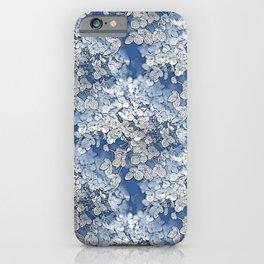 Hydrangea clouds iPhone Case
