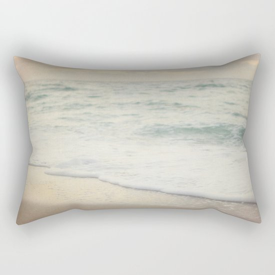 Beach Sunset Rectangular Pillow
