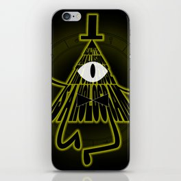 Bill Cipher, Reality is an illusion iPhone Skin