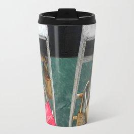 Padlock Bridge Travel Mug