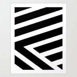 A Bolder Hello V Art Print