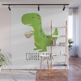 Coffee-saur Wall Mural