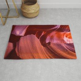 Antelope Canyon No. 2, Fine Art Photography Rug