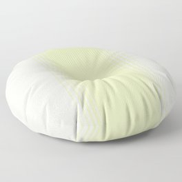 Green Tea & Crème Vertical Gradient Floor Pillow