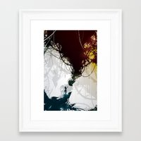 cake Framed Art Prints featuring Cake by Justin Currie