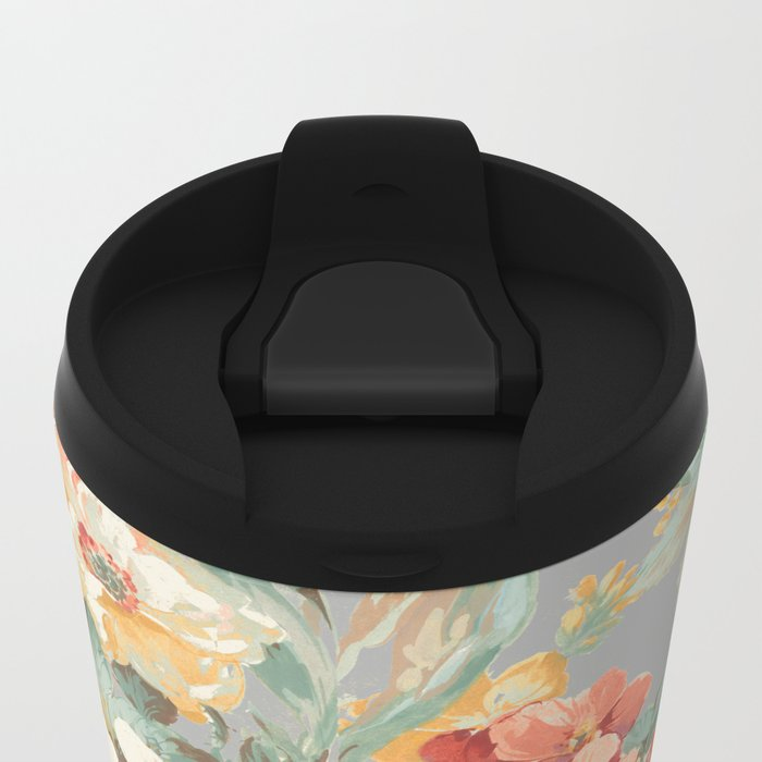 fall garden Metal Travel Mug