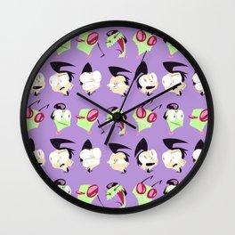 Zim n' Dib Wall Clock