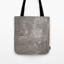 voices from the past Tote Bag