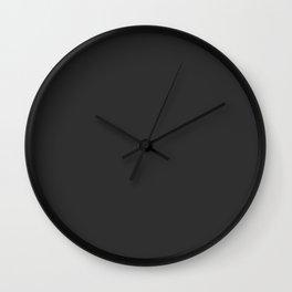 Pensive Daisy Dark Wall Clock
