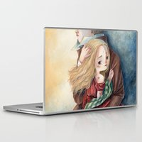 les miserables Laptop & iPad Skins featuring les miserables by Fabiana Attanasio