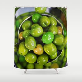 Olive you lots Shower Curtain